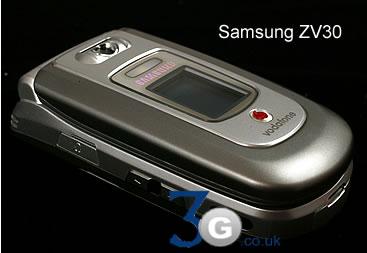 Samsung ZV30 and Samsung ZV10 Vodafone live  3G Mobile Phones