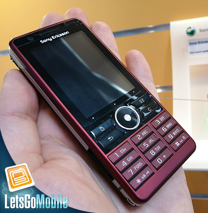 Sony Ericsson G900 Symbian smartphone LetsGoMobile