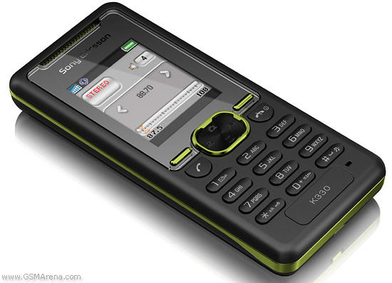 Sony Ericsson K330 pictures  official photos