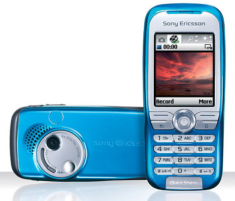 Sony Ericsson K500 phone photo gallery  official photos