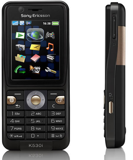 Sony Ericsson K530 phone photo gallery  official photos