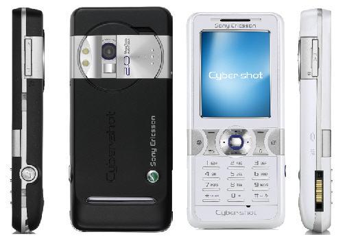 Sony Ericsson K550 K550im     slim and affordable Cyber Shot Camera