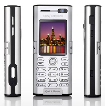 Sony Ericsson K600 phone photo gallery  official photos