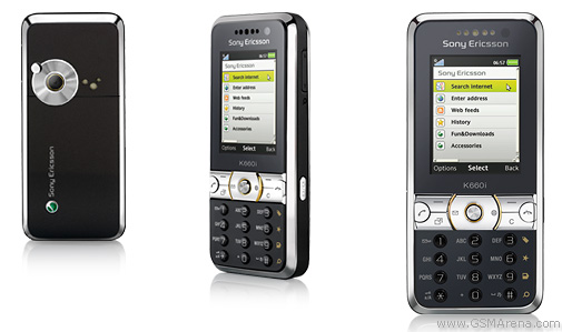 Sony Ericsson K660 pictures  official photos