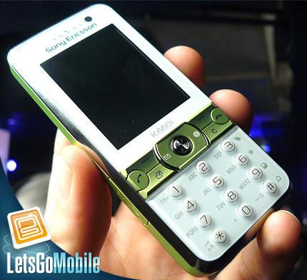 Sony Ericsson K660 LetsGoMobile