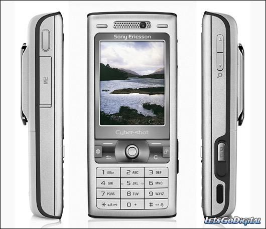 Sony Ericsson K800i silver edition   LetsGoDigital