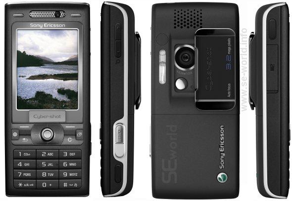 SonyEricsson K800 Device Specifications   Handset Detection