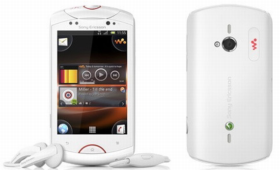 Sony Ericsson Live with Walkman Android smartphone officially