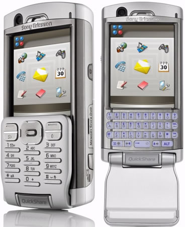 Sony Ericsson P990 phone photo gallery  official photos