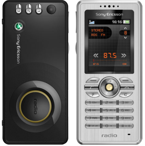 Sony Ericsson R300 Radio offers a built in VGA camera on board  So