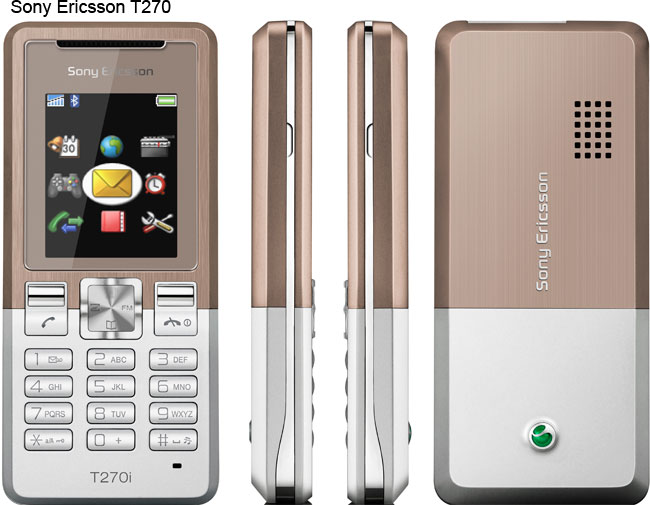 Sony Ericsson announces the T270 and T280 mobile phones   Esato