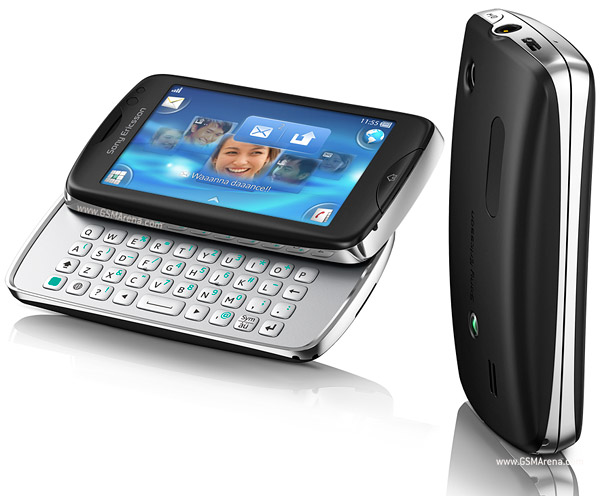 Sony Ericsson txt pro pictures  official photos
