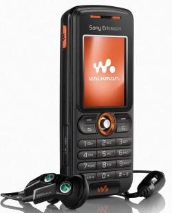 Sony Ericsson W200 Walkman Phone    Anything But iPod