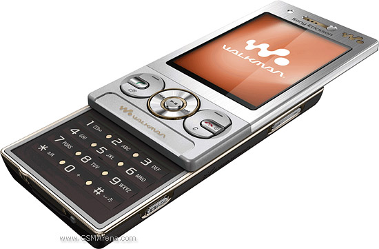 Sony Ericsson W705 pictures  official photos