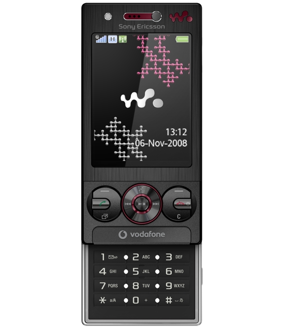 Sony Ericsson W715  a Vodafone exclusive   Unwired View