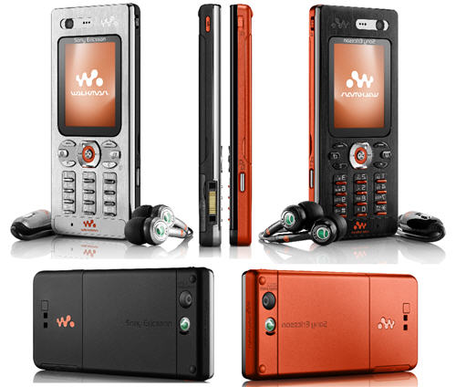 Sony Ericsson W880 W888 Walkman Phone Released   Unwired View