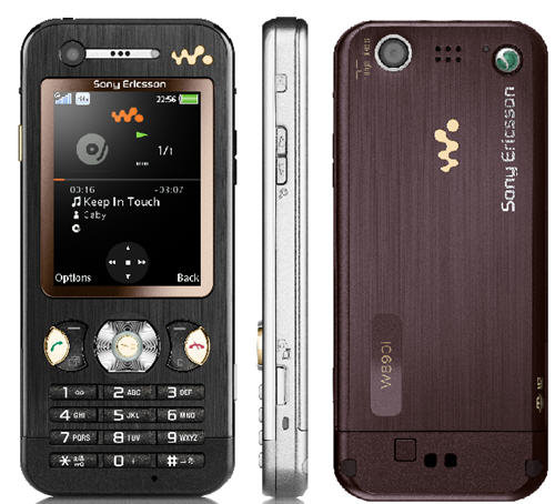 Sony Ericsson W890 Walkman Phone announced   Unwired View