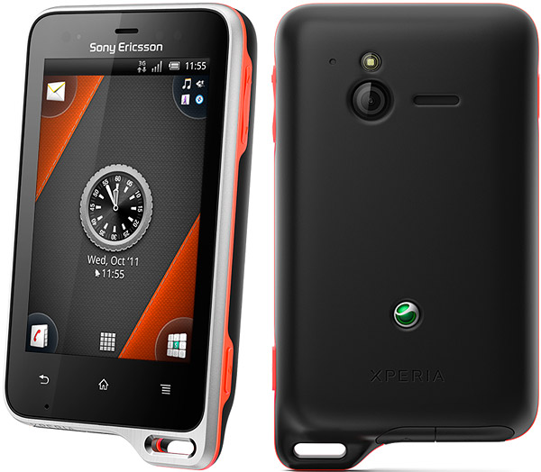 Sony Ericsson Xperia active   Full phone specifications