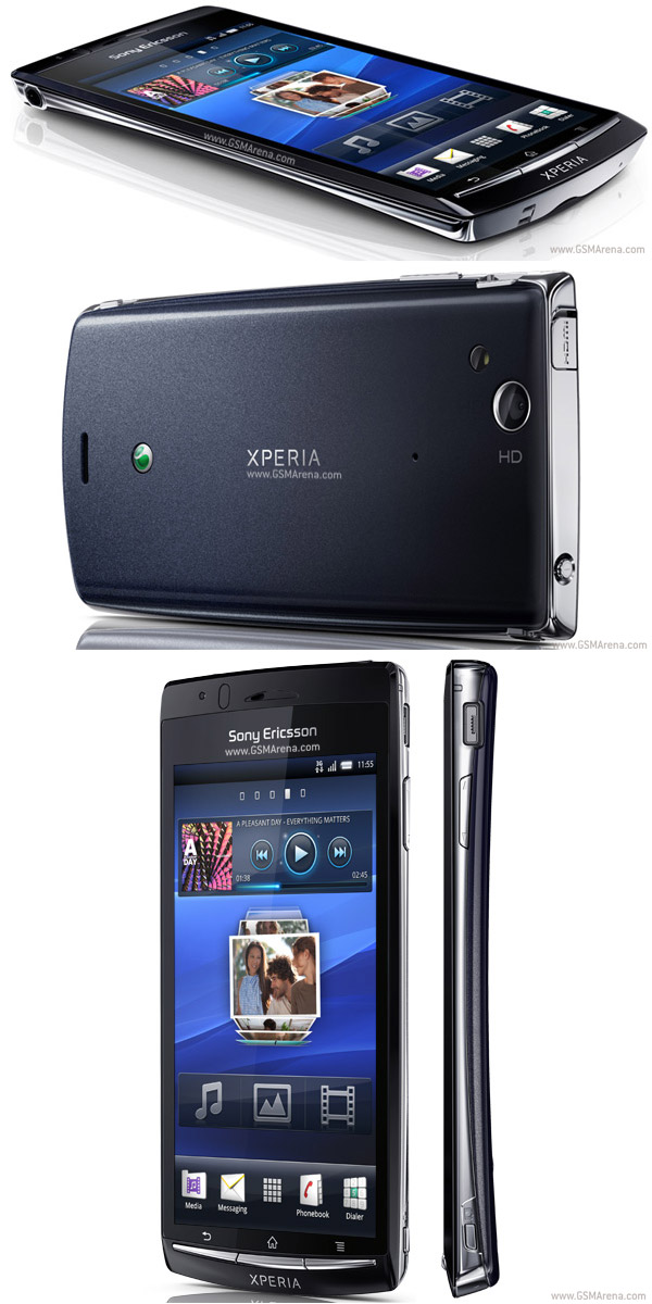 Sony Ericsson Xperia Arc pictures  official photos