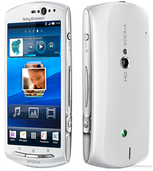 Sony Ericsson Xperia neo V pictures  official photos