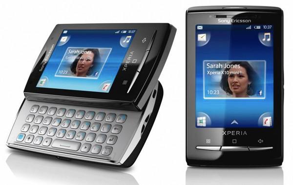Sony Ericsson outs Xperia X10 mini and Xperia X10 mini pro