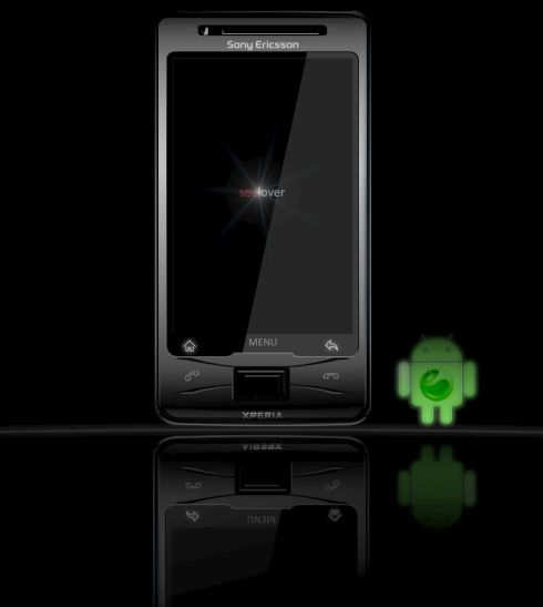 Sony Ericsson XPERIA X2 Android  Sealover Updates His Concept