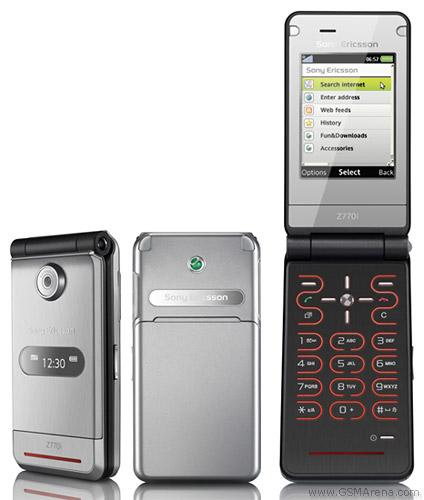 Sony Ericsson Z770 pictures  official photos