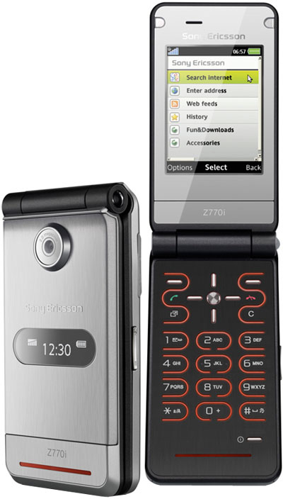 SonyEricsson Z770 Device Specifications   Handset Detection
