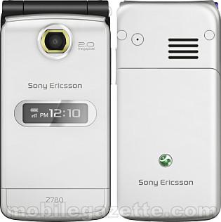 Sony Ericsson Z780   Mobile Gazette   Mobile Phone News