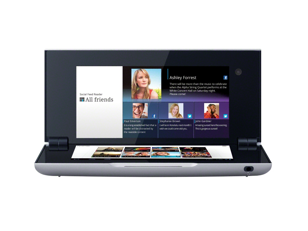 Mobile Phones   Sony Tablet P 3G