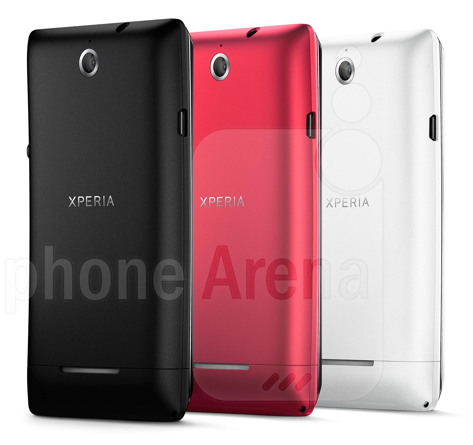 Sony Xperia E specs