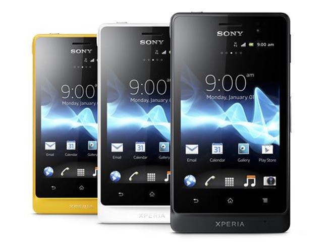 Sony Xperia Go ST27i   Widget City