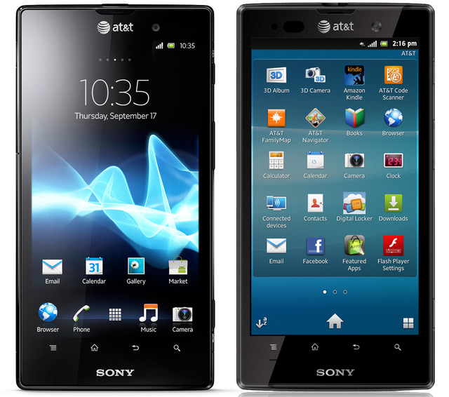Sony Xperia Ion coming this spring on ATT  LTE  4 6 inch 720p