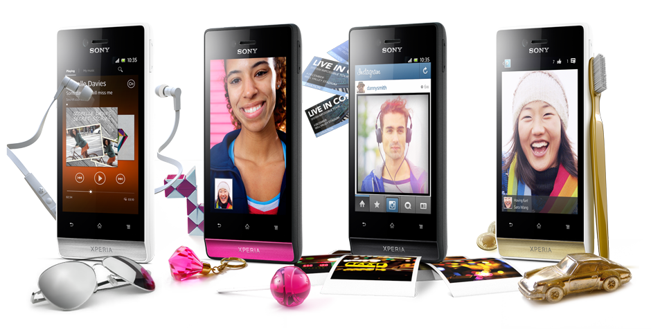Xperia miro   Touchscreen Android   Sony Smartphones  Global UK