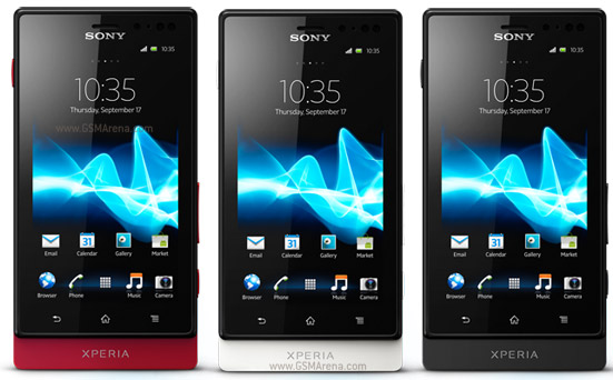 Sony Xperia sola pictures  official photos