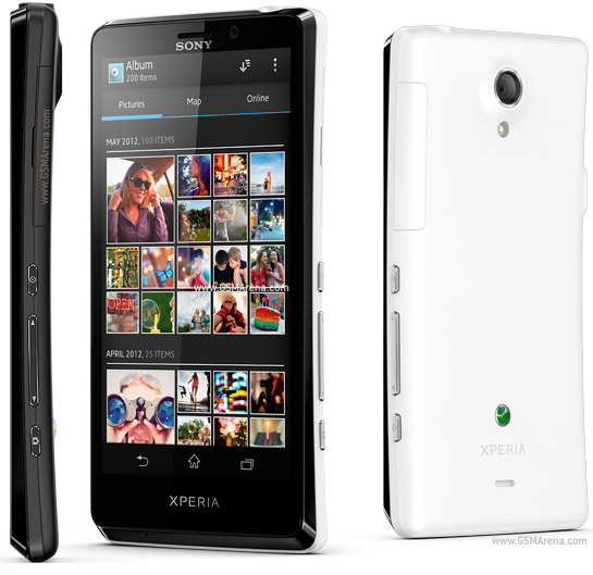 Sony Xperia T pictures  official photos
