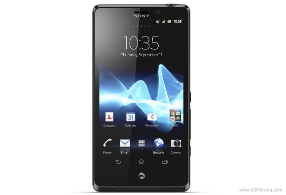 Sony Xperia T LTE pictures  official photos