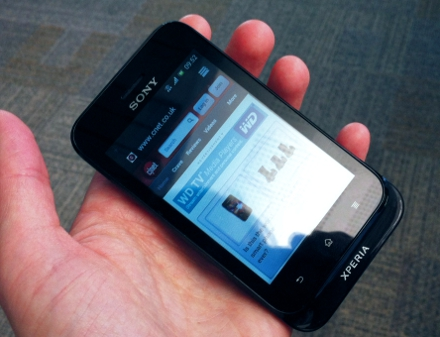 Sony Xperia Tipo Review   Mobile Phones   CNET UK