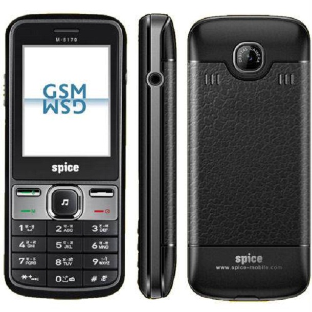 Spice M 5170   Full Phone Specifications  Price