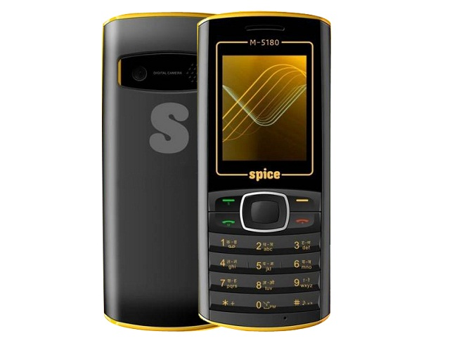 Find the Latest Spice M 5180 Mobile Phone Price in India