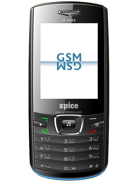Spice M 5262   Full phone specifications