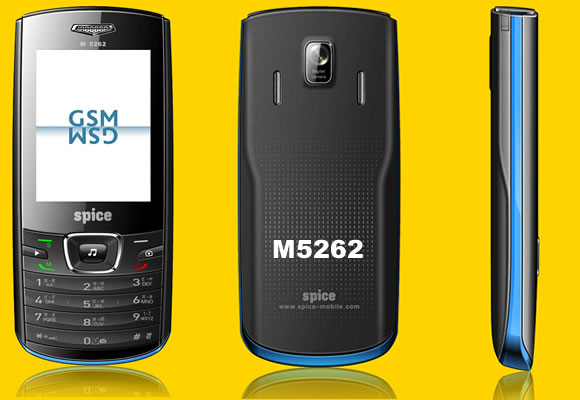 Spice M 5262   Complete Phone Specifications