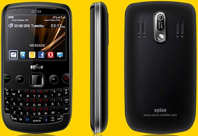 Spice QT 65   Complete Phone Specifications