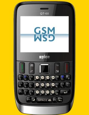 Spice QT 68 Dual SIM  GSM GSM  QWERTY Phone Launched