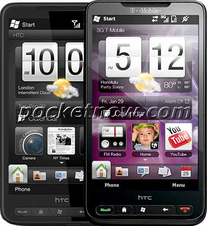 T Mobile HD2 vs HTC HD2 Comparison   Pocketnow
