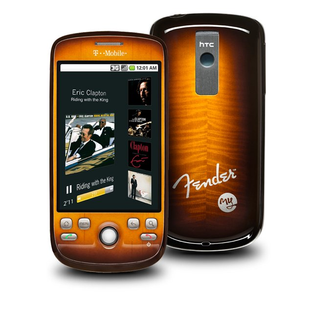 T Mobile myTouch 3G Fender Edition phone photo gallery  official