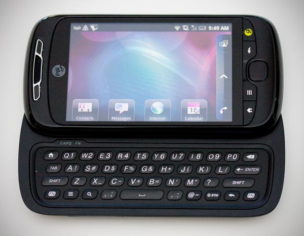 T Mobile myTouch 3G Slide phone photo gallery  official photos