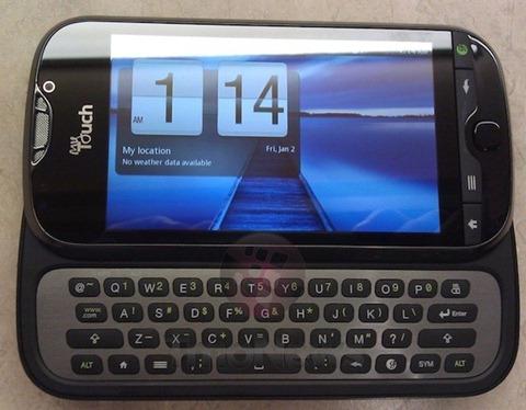 T Mobile T Mobile myTouch 4G Slide OS Android OS  v2