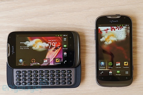 T Mobile myTouch and myTouch Q review  two budget friendly phones