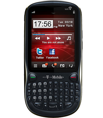 T Mobile Vairy Text II   Full phone specifications